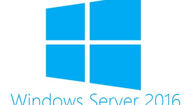Windows Server 2016 est maintenant disponible